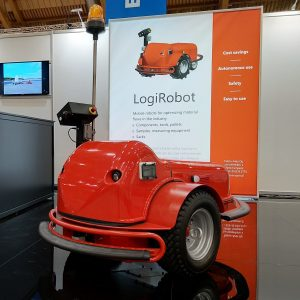 LogiRobotTM - Autonomous mobile robot for manufacturing industry logistics