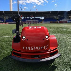 "LogiRobotTM - ""Greenie"" for turf maintenance"